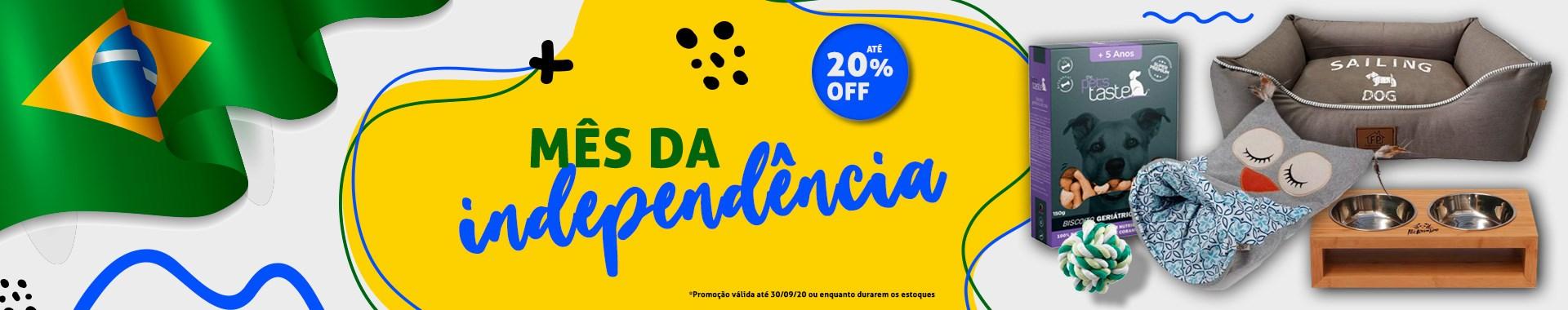 Semana da Independência - Até 20% OFF