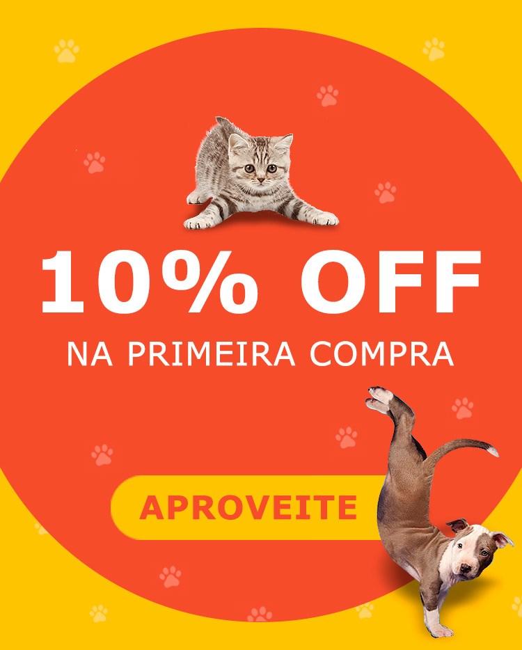 10% OFF na Primeira Compra - Foxpet