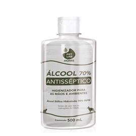 Álcool 70% Antisséptico PetLab - 500 Ml