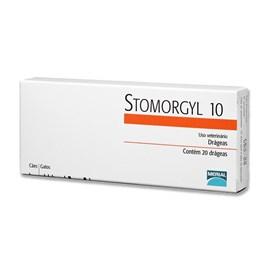 Antibiótico Merial Stomorgyl 10 para Cães e Gatos - 20 Comprimidos
