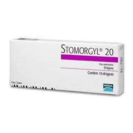 Antibiótico Merial Stomorgyl 20 para Cães e Gatos - 10 Comprimidos