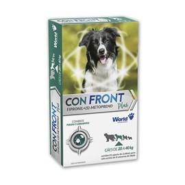 Antipulgas e Carrapatos Confront Plus Cães (20 - 40KG) 2,68ML