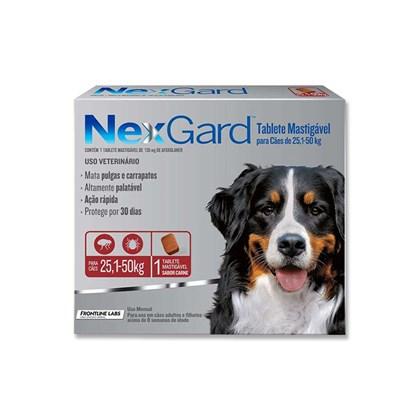 Antipulgas e Carrapatos Merial 136 mg para Cães de 25,1 a 50 Kg