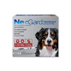 Antipulgas e Carrapatos Merial Nexgard 136 mg para Cachorro de 25,1 a 50 Kg