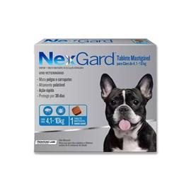 Antipulgas e Carrapatos Merial Nexgard 28,3 mg para Cachorro de 4,1 a 10 Kg