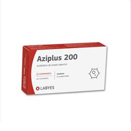Aziplus 200 3 comprimidos