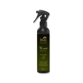Banho a Seco Pet Society Fast Shower - 240 Ml