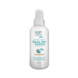 Banho a Seco Soft Care Baby Spray dos Sonhos para Cães e Gatos