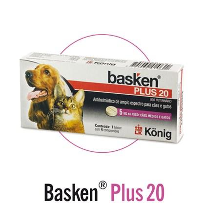 Basken Plus 20 - 4 Comprimidos