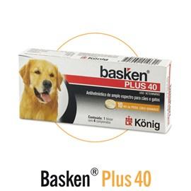 Basken Plus 40 - 4 Comprimidos