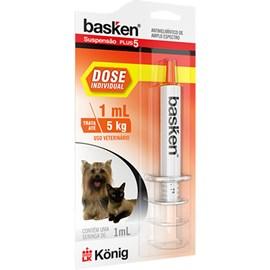 Basken Suspensão dose Individual 1ml - König