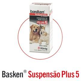 Basken Suspensão Plus 5 - 20ml