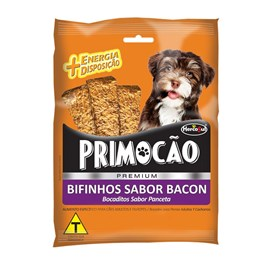 Bifinho Hercosul Primocão Sabor Bacon 60gr