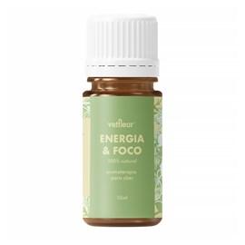 Blend Energia & Foco Rollon 10ml Vetfleur Aromaterapia