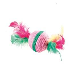Bola com Plumas para Gatos ferplast - cores sortidas