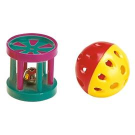 Bola e cilindro para gatos - Ferplast