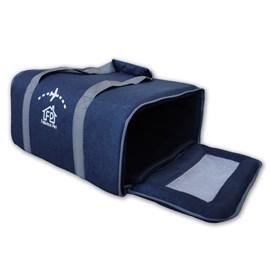 Bolsa de Transporte Fechado Azul Fábrica Pet
