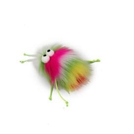 Brinquedo AFP Furry Ball Fluffer Rosa para Gatos