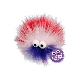 Brinquedo AFP Furry Ball Fluffer Roxo para Gatos
