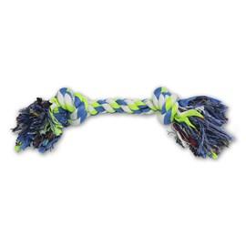 Brinquedo de Corda Dental Bone Azul e Verde - VillaPet
