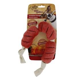 Brinquedo de Pelúcia Salsichas churrasco - AFP