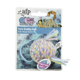 Brinquedo para gatos bola de lã - AFP
