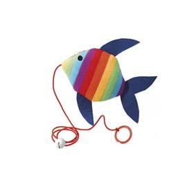 Brinquedo Peixe Colorido