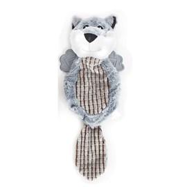 Brinquedo Pelucia Villapet Fox Cinza