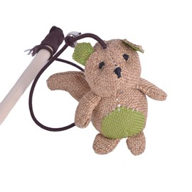 Brinquedo PetBamboo Eco Gato Vareta de Urso