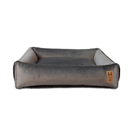 Cama Comfy Grey Beds For Pets - Tamanho M