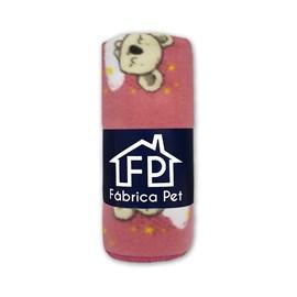 Cobertor Soft Estampa Fábrica Pet Tamanho M