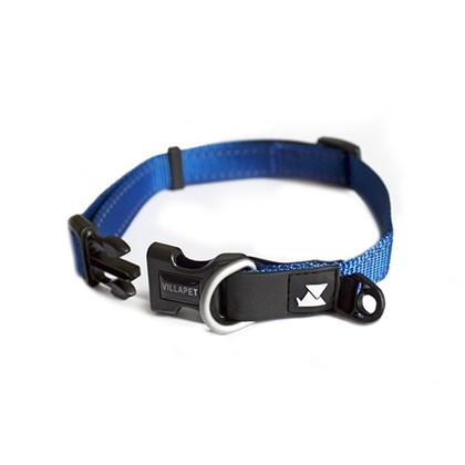 Coleira Para Cães Ajuste Reflex  VillaPet - Azul