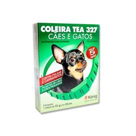 Coleira Tea 327 Cachorro  13gr 33 cm - König