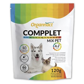 Compplet Mix Pet Organnact A-Z Tabs 120g