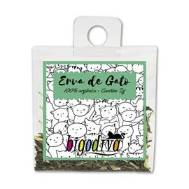 Erva de Gato - Catnip Organico 2 gramas Bigodiva