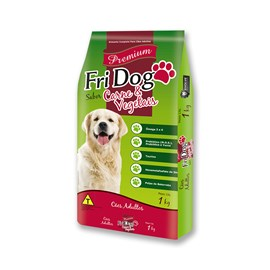 Fri Dog Carnes & Vegetais - 1kg