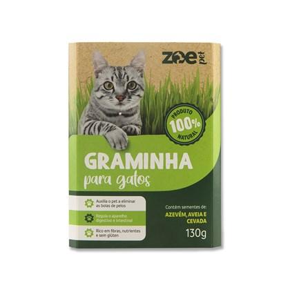 Graminha Para Gatos Zoe Pet 130G