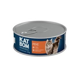 KatBom - Peixe - Lata 170g