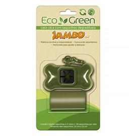 Kit Porta Sacos com 2 Rolos Bio Eco Green Jambo