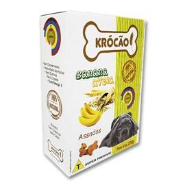 Krocao Biscoito Integral  Banana C/ Aveia 200Gr