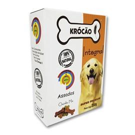 Krocao Biscoito Integral Ossinho Mix 200Gr
