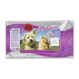 Luvas Secas Descartáveis para Banho Hipoalergênico Pet Care 5 Unidades