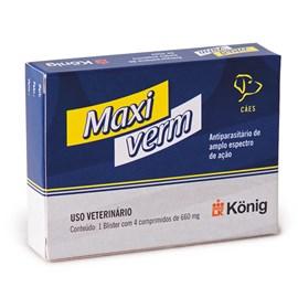 Maxi Verm König 4 Compridos