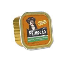 Pate Premium Primocão Carne e vegetais 300gr