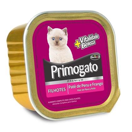 Pate Premium Primogato Filhotes Peru e Frango 150gr