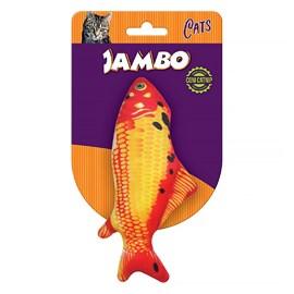 Peixe Carpa P/Gato Com Catnip Jambo