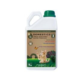 PetLab Domestics - Areia Sanitaria para Gatos - bombona 4kg
