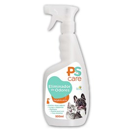 PS Care Eliminador de Odores Pet Society - 500 Ml