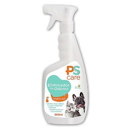PS Care Eliminador de Odores Pet Society - 500 Ml