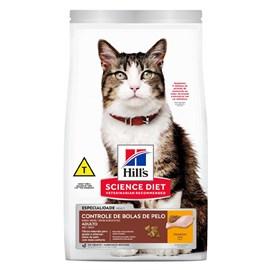 Ração Hill's Feline Adulto Controle de Bolas de Pelo